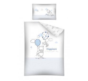 Pościel dziecięca z bawełny do łóżeczka -  Kubuś z Balonikiem - 100x135+ 40x60 - Wtp 26 B