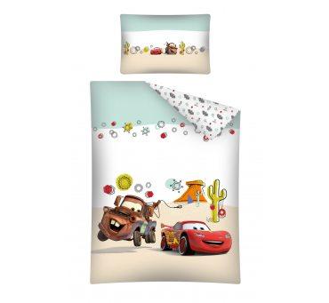 Pościel z bawełny dla dzieci  Cars / Auta 100x135 cars 30 A  do łóżeczka