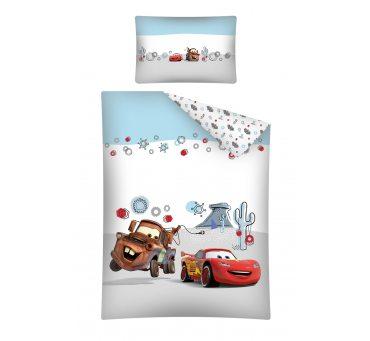 Pościel z bawełny dla dzieci  Cars / Auta 100x135 cars 30 B  do łóżeczka