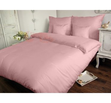 Pościel Satynowa Jednobarwna 180 x 200 - Różowa Carmen 006 roż