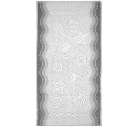 Ręcznik Flora Ocean - Popielaty - 40x60 cm - Everday Collection - Greno