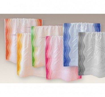 Ręcznik Flora Ocean - Różowy - 40x60 cm - Everday Collection - Greno