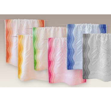 Ręcznik Flora Ocean - Popielaty - 50x100 - Everday Collection - Greno