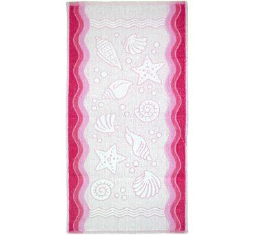 Ręcznik Flora Ocean - Różowy - 50x100 - Everday Collection - Greno