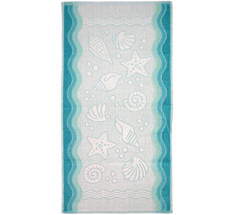 Ręcznik Flora Ocean - Turkusowy - 50x100 - Everday Collection - Greno   turkus