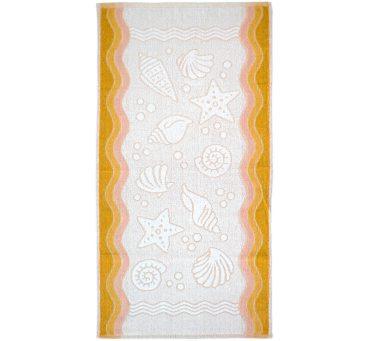 Ręcznik Flora Ocean - Żółty - 50x100 - Everday Collection - Greno