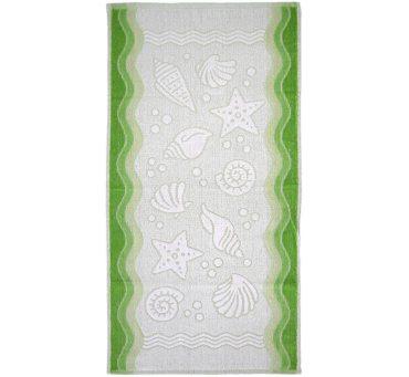 Ręcznik Flora Ocean - Zielony - 70x140 cm - Everday Collection - Greno