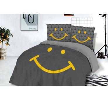 Pościel bawełniana  - Uśmiech - 160x200 - 61448/1- vintage