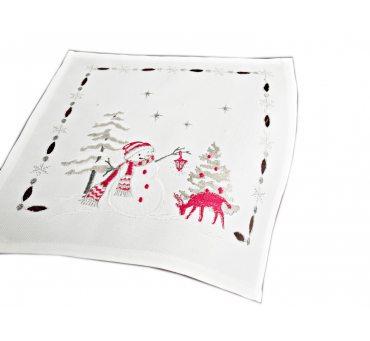 Serwetka świąteczna - bałwanek - 25 x 25 int 181243