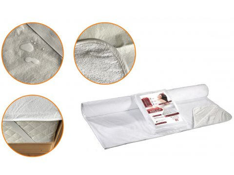 Podkład na materac z ceratą Rizo 160x200 nieprzemakalny
