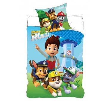 Pościel z bawełny dla dzieci - Psi Patrol - 160x200 +70x80 - Paw  05