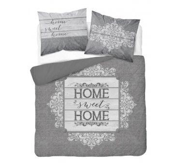 Pościel z bawełny - 160x200 - Home sweet Home  - 3131 A - Holland  holenderska