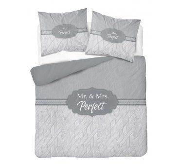 Pościel z bawełny - 160x200 - Mr & Mrs Perfect - 3128  a - Holland  holenderska