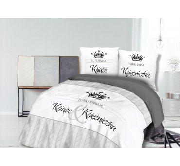 Pościel z bawełny - Książe & Księżniczka  -  220x200 - 61457/1 - vintage