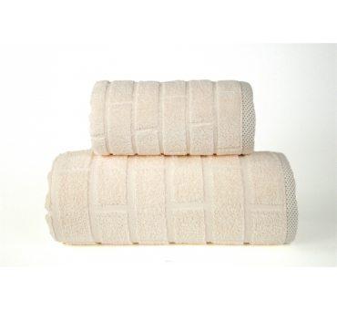 Ręcznik Brick - Kremowy -...