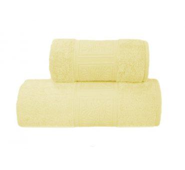 Ręcznik Ecco Bamboo - Żółty - 50x90 cm - Greno