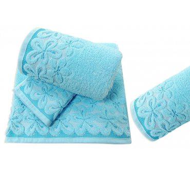 Ręcznik Bella - 30x50 - Lazur - Greno  lazurowy