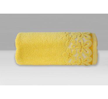 Ręcznik Bella - 30x50 - Żółty - Greno