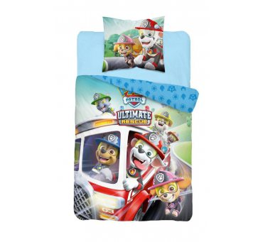Pościel z bawełny dla dzieci - Psi Patrol - 140x200 +70x80 - Paw  44322-P2