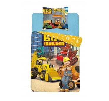 Pościel z bawełny dla dzieci - Bob Budowniczy - 140x200 +70x80 - Bob 008