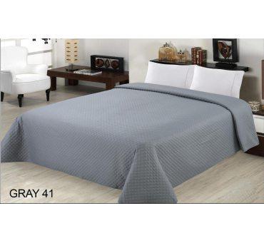 Narzuta jednobarwna Grey 200x220  Diamond Szary 41