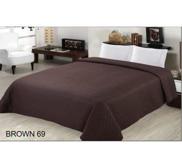 Narzuta jednobarwna Brown 200x220 Diamond brązowy 69