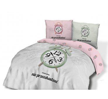 Pościel z bawełny - Właśnie śpimy.. -  160x200 -61470/1 - vintage