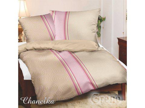 Komplet pościeli satynowej Bielbaw Chanelka 220x200  Greno