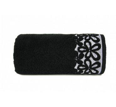 Ręcznik Bella - 30x50 - Czarny - Greno