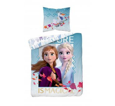 Pościel dla dzieci Kraina Lodu  160x200 + 70x80  Detexpol Frozen - Fro 30
