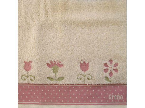 Ręcznik Greno  In Love różowy 50x90