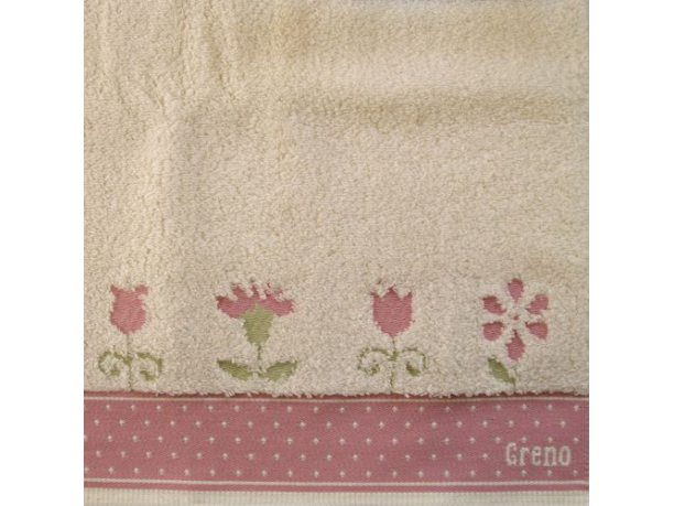 Ręcznik Greno  In Love różowy 70x140