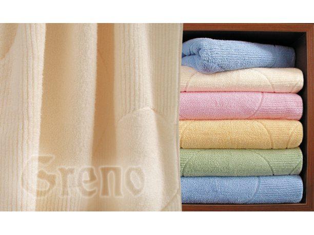 Ręcznik Wersal 70x140 Kremowy Greno