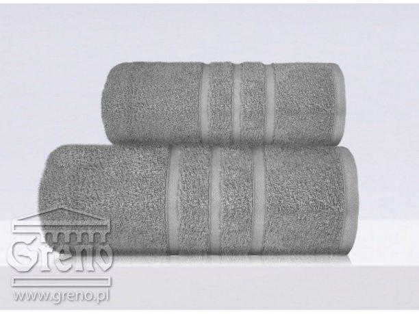 Ręcznik Greno B2B  stalowy  50x90
