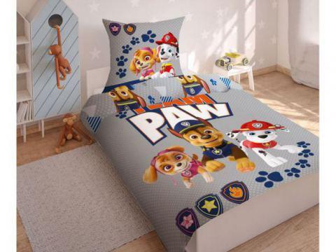 Pościel z bawełny dla dzieci - Psi  Patrol - 140x200 +70x80 - Paw  0009