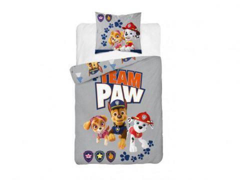 Pościel z bawełny dla dzieci - Psi  Patrol - 160x200 +70x80 - Paw  0009