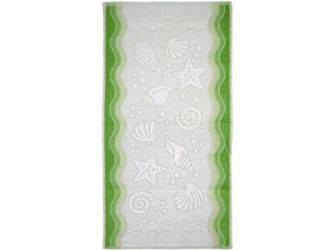 Ręcznik Flora Ocean - Zielony - 80x150 cm - Everday Collection - Greno