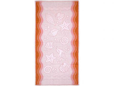 Ręcznik Flora Ocean - Brzoskwiniowy - 80x150 - Everday Collection - Greno