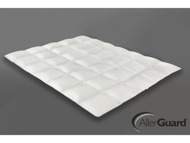 Kołdra antyroztoczowa 155x200 AllerGuard® zimowa Antyalergiczna Puchowa  warm