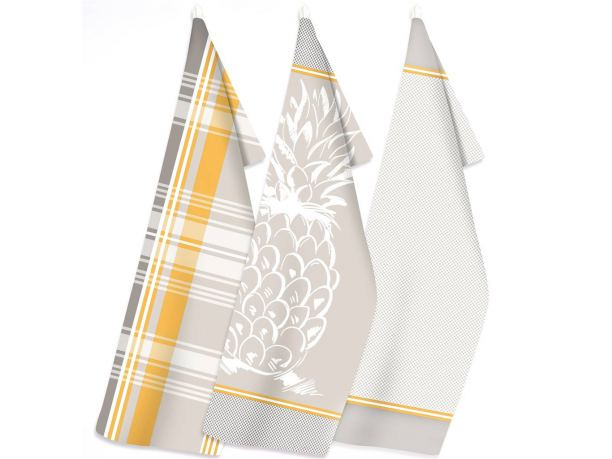 Zestaw ściereczek kuchennych Exclusive  III - Ananas - 50x70 cm - Greno sciereczka