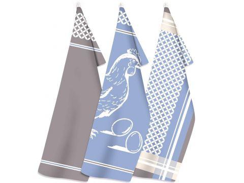 Zestaw ściereczek kuchennych Exclusive  III - The Farm - 50x70 cm - Greno sciereczka