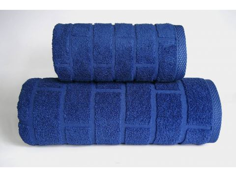 Ręcznik Brick Granatowy - 70x140 - Greno