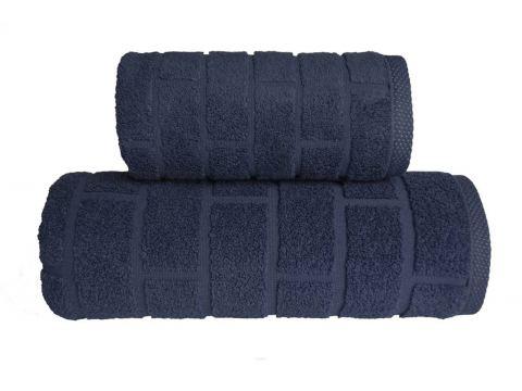 Ręcznik Brick - Denim - 70...