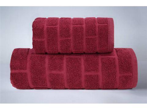 Ręcznik Brick - Red Wini-...