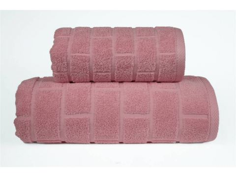 Ręcznik Brick - Różany -...