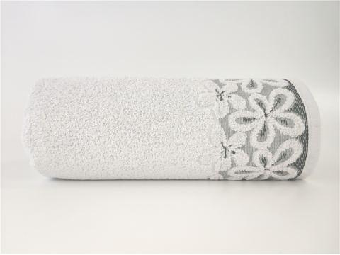 Ręcznik Bella - 70 x 140 -  Gołębi - jasny popielaty - Greno