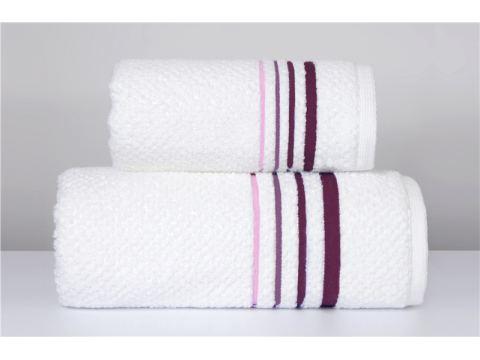 Ręcznik Costa Rei - 50x90 - Różany - Jednobarwny Greno