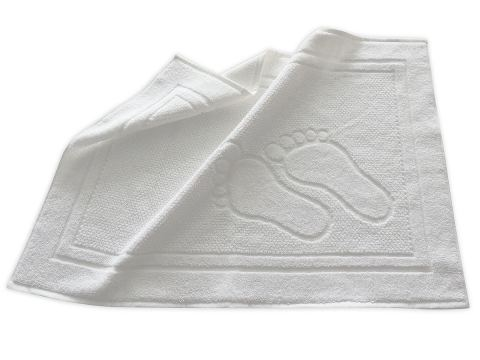 Dywanik łazienkowy Feet 50x70 cm Biały  Greno