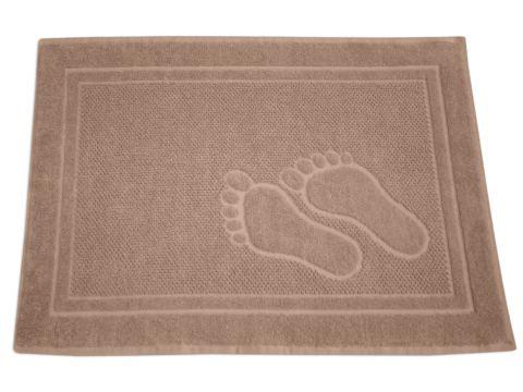 Dywanik łazienkowy - Feet - 50x70 cm - Beżowy - Greno