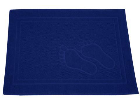 Dywanik łazienkowy - Feet - 50x70 cm - Granatowy - Greno